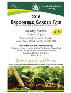 2016 Garden Fair